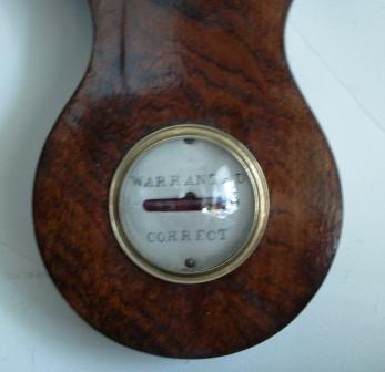 Rosewood Banjo - spirit level